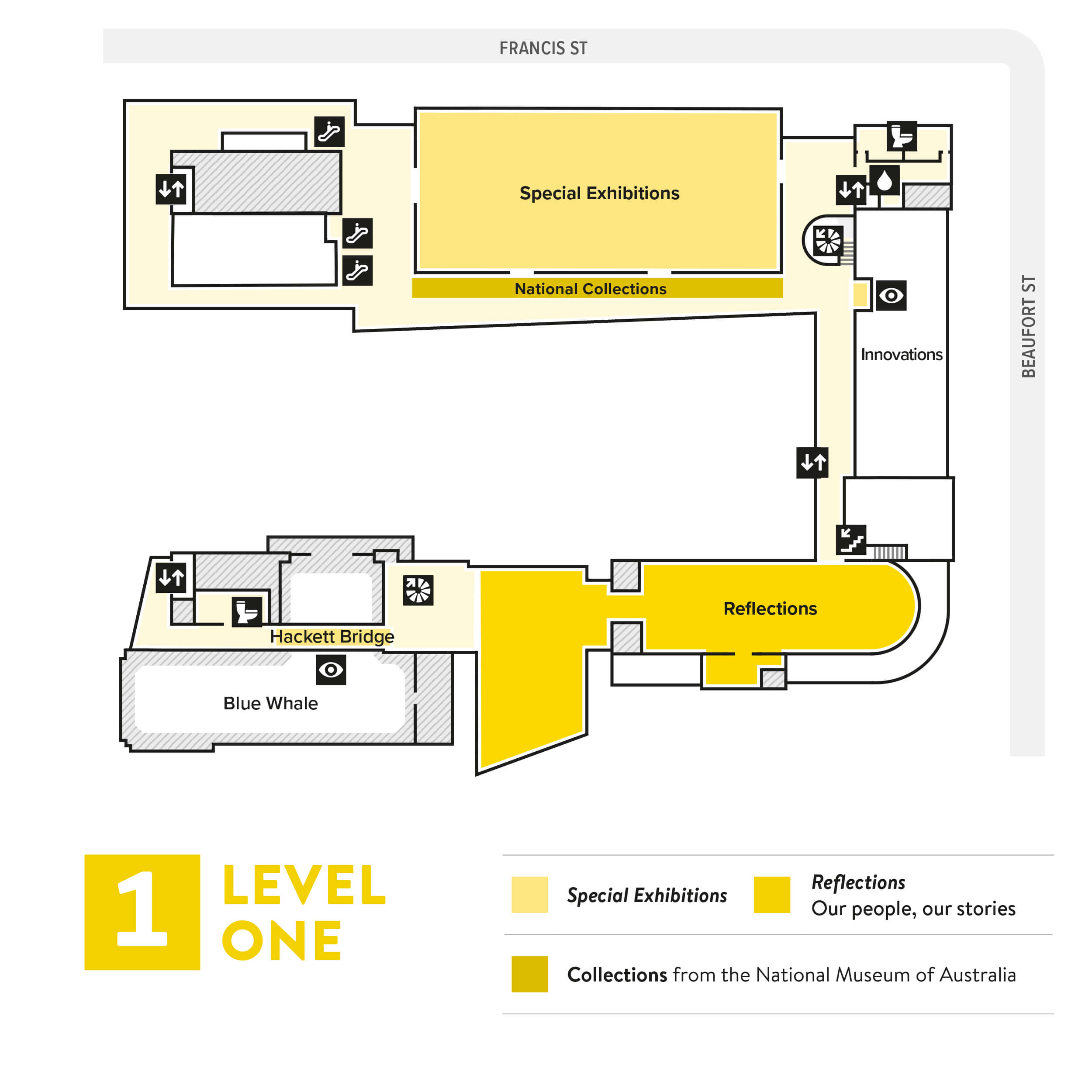 Level one map